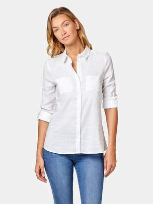 Jeanswest Penny Linen Blend Relaxed Shirt