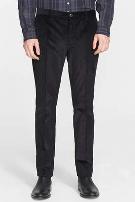 John Varvatos Collection 'Moto City' Corduroy Pants