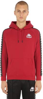 Kappa Cotton Sweatshirt Hoodie W/ Logo Bands