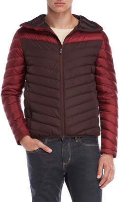Superdry Chevron Hooded Down Jacket