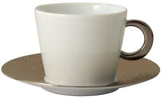 Bernardaud Ecume Platinum Tea Saucer
