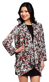 Nicole Richie Collection Printed Cascade Jacket