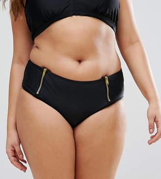 Junarose Zip Bikini Bottom