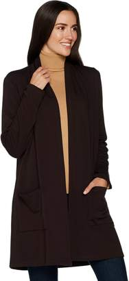 Susan Graver Weekend Brushed Back Knit Duster
