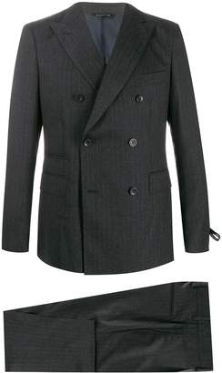 Tonello pinstripe double-breasted suit
