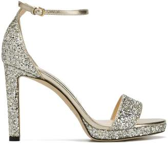 Jimmy Choo Misty sparkle heeled sandals