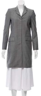 Thom Browne Wool Knee-Length Coat