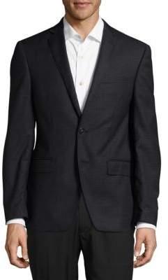 Calvin Klein Mini Graph Wool Blazer