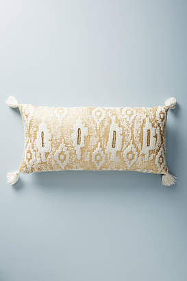 Anthropologie Embroidered Ryleigh Pillow