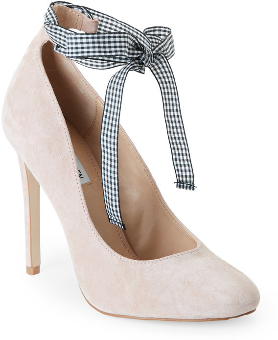 steve madden Blush Lilly Ankle Wrap Pumps