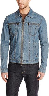 John Varvatos Star USA Men's Denim Jacket $298 thestylecure.com