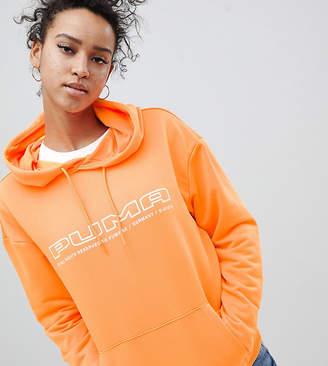 Puma Exclusive To ASOS Hoodie In Bright Orange