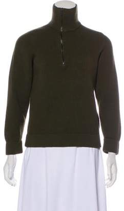 Gucci Knit Pullover Sweater Olive Knit Pullover Sweater