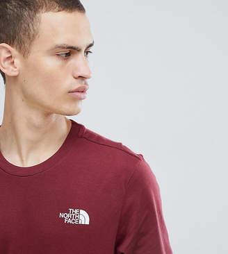 The North Face Exclusive to ASOS Simple Dome T-Shirt in Red