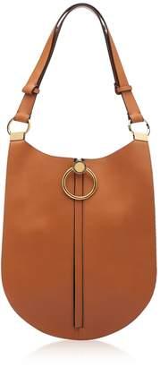 Marni Cinnamon Leather Earring Shoulder Bag