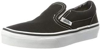 Vans Classic Slip-On, Unisex Kids' Low-Top Sneakers, Black (), 13 Child UK (31 EU)