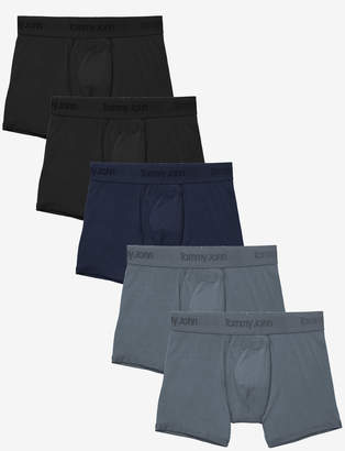 Tommy John Second Skin Trunk 5 Pack