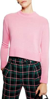 Topshop Cash Ottoman Crop Sweater