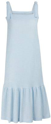Harris Wharf London Gingham midi dress