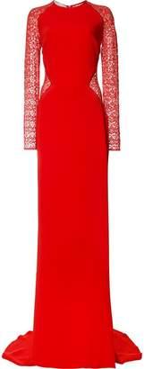 Stella McCartney lace panel maxi dress