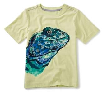 Tea Collection Lizard Graphic T-Shirt