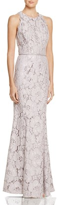 JS Collections Lace Racerback Gown $348 thestylecure.com