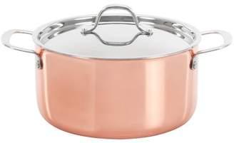 Concord 5 Qt. Tr-iply Copper Round Dutch Oven