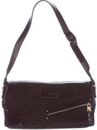 Christian Dior Christian Dior Diorissimo & Leather Bag