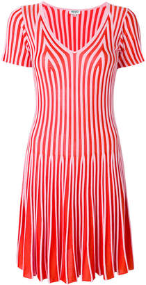 Kenzo striped flare dress