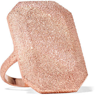 Carolina Bucci Florentine 18-karat Rose Gold Ring
