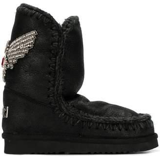 Mou sheep skin boots