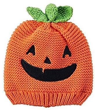 Carter's Baby Pumpkin Face Hat 0-3 Months