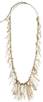 Chanel Faux Pearl Fringe Necklace