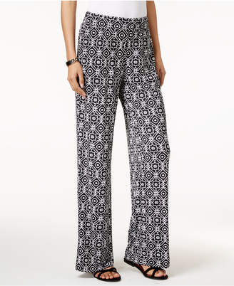 Ny Collection Petite Printed Soft Pants $50 thestylecure.com