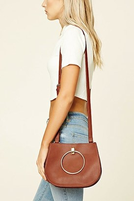 FOREVER 21+ Faux Leather Crossbody $10.90 thestylecure.com