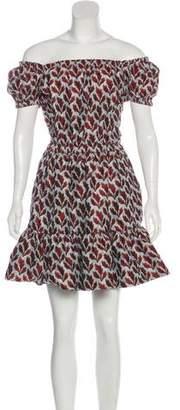Philosophy di Lorenzo Serafini Off-The-Shoulder Mini Dress
