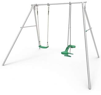 TP Double Giant Swing Frame with Skyride & Deluxe Swing Seat