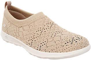 Skechers GO Walk Lite Knitted Slip-On Shoes- Harmony