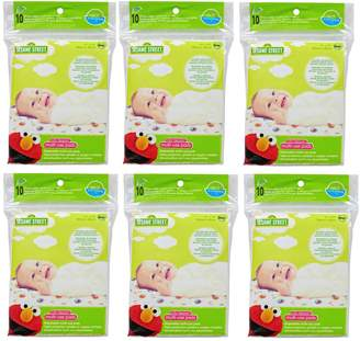 """Neat Solutions Sesame Street Tidy Topper Disposable Multi Use Pad, 15"""" X 19"""", 60-count"""