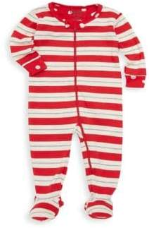 Hatley Baby Girl's Striped Footie