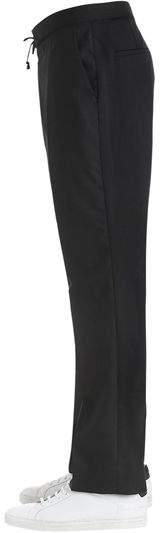 Maison Margiela 22cm Wool Poplin Jogging Style Pants
