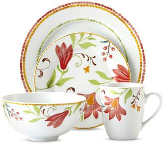 Oneida Italian Cypress 16-pc. Floral Dinnerware Set