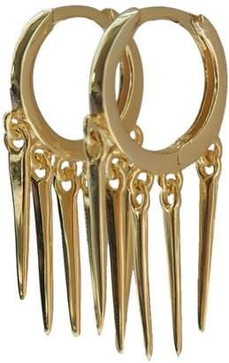Wild Hearts - Tassel Huggie Earrings Gold