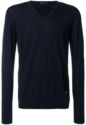 Versace V-neck slim-fit jumper