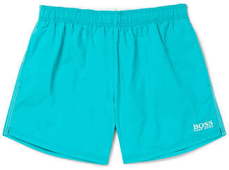 HUGO BOSS Short-Length Embroidered Swim Shorts