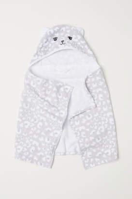H&M Hooded Towel - Gray