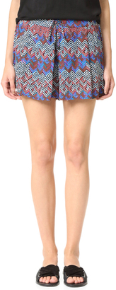 Ella Moss Kaliso Shorts $128 thestylecure.com