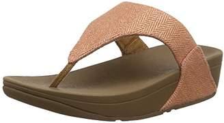 FitFlop Women's Lulu Mirage Open Toe Sandals,39 EU