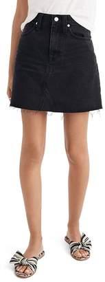 Madewell Frisco Denim Miniskirt