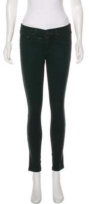 Rag & Bone Mid-Rise Skinny Jeggings